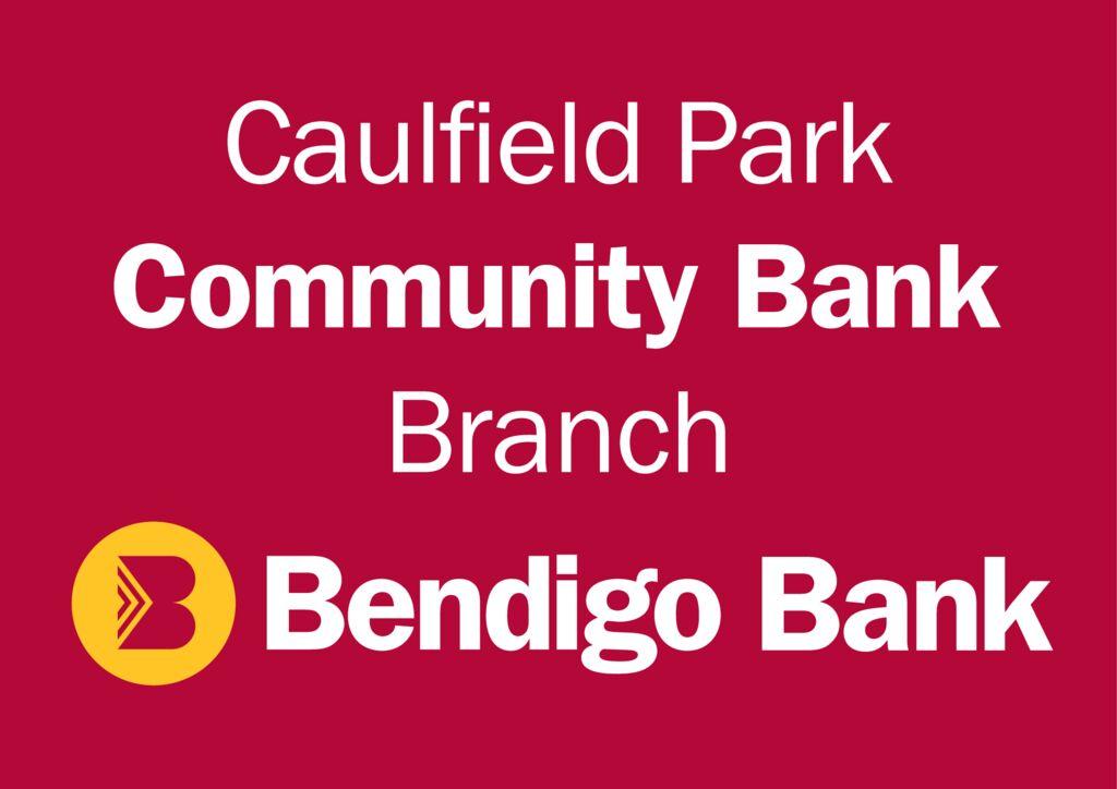 thumbnail of Caulfield Park Bendigo Bank logo